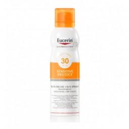 Eucerin Sensitive Protect Spray Toque Seco SPF 30 c/ Desconto 20% - 200 mL - comprar Eucerin Sensitive Protect Spray Toque Se...