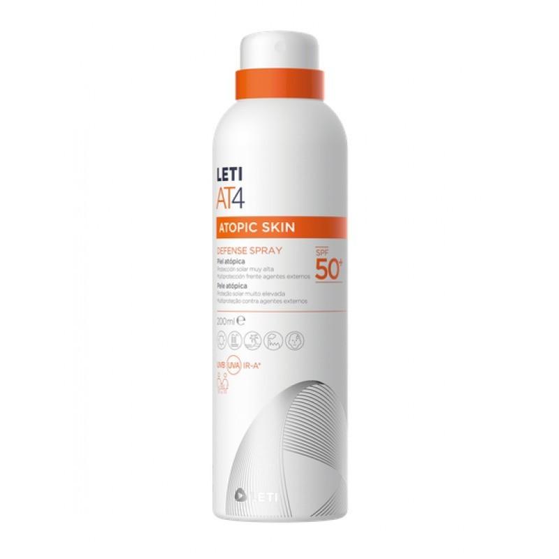 LetiAT4 Protetor Solar Defense Spray SPF 50+ - 200ml - comprar LetiAT4 Protetor Solar Defense Spray SPF 50+ - 200ml online - ...