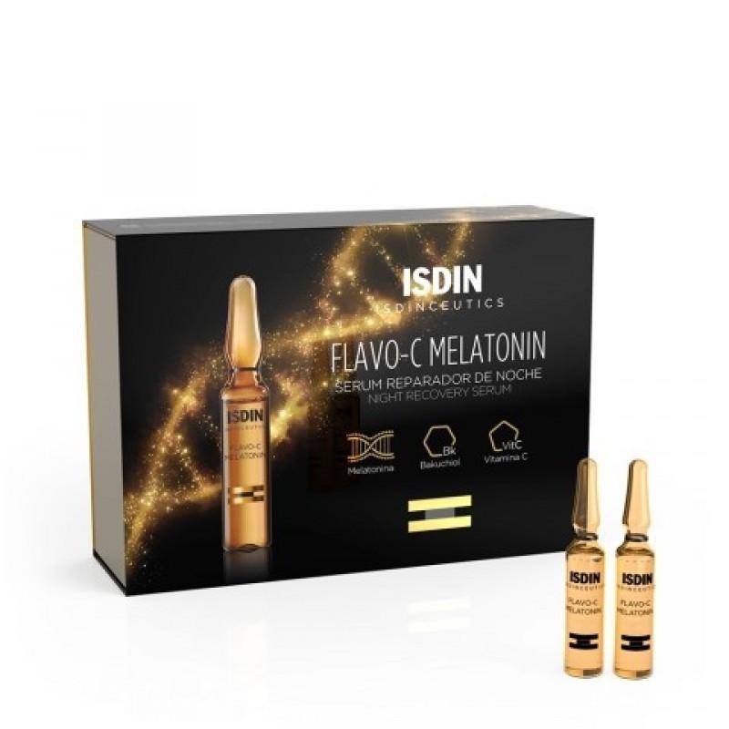 Isdinceutics Flavo-C Melatonin - 2 mL x 10 ampolas - comprar Isdinceutics Flavo-C Melatonin - 2 mL x 10 ampolas online - Farm...