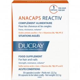 Ducray Anacaps Reactiv c/ Oferta Anaphase+ Champô Antiqueda - 30 cápsulas + 100 mL - comprar Ducray Anacaps Reactiv c/ Oferta...