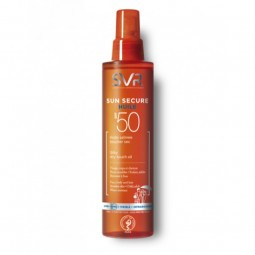 SVR Sun Secure Óleo Seco SPF 50+ - 200 mL - comprar SVR Sun Secure Óleo Seco SPF 50+ - 200 mL online - Farmácia Barreiros - f...