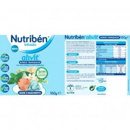 Nutribén Infusão Alivit Sonos Tranquilos - 150 g - comprar Nutribén Infusão Alivit Sonos Tranquilos - 150 g online - Farmácia...
