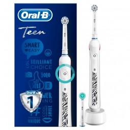 Oral-B SmartSeries Teen Escova De Dentes Elétrica Da Braun Cor Branca - 1 escova de dentes - comprar Oral-B SmartSeries Teen ...