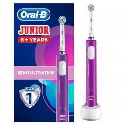 Oral-B Junior Roxa Escova Dentes Elétrica Para Crianças +6 Anos - 1 escova de dentes - comprar Oral-B Junior Roxa Escova Dent...
