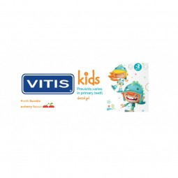 Vitis Kids Gel Dentífrico Cereja - 50 mL - comprar Vitis Kids Gel Dentífrico Cereja - 50 mL online - Farmácia Barreiros - far...