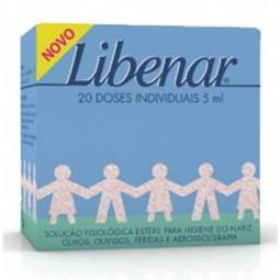 Libenar Solução Nasal Unidoses c/ Desconto 50% 2ª Embalagem - 2 x 20 monodoses - comprar Libenar Solução Nasal Unidoses c/ De...