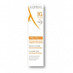 A-Derma Protect Fluido Invisível SPF 50+ - 40 mL - comprar A-Derma Protect Fluido Invisível SPF 50+ - 40 mL online - Farmácia...