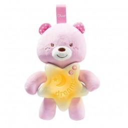 Chicco Ursinho Boa Noite Rosa 0M+ - 1 unidade - comprar Chicco Ursinho Boa Noite Rosa 0M+ - 1 unidade online - Farmácia Barre...