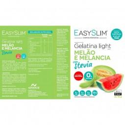 Easyslim Gelatina Light Melão Melancia Stevia - 2 x 15 g - comprar Easyslim Gelatina Light Melão Melancia Stevia - 2 x 15 g o...