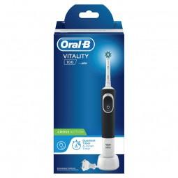 Oral-B Vitality CrossAction Escova de Dentes Elétrica Preta - 1 escova de dentes elétrica - comprar Oral-B Vitality CrossActi...