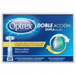 Optrex Colírio Dupla Ação Olhos Comichão - 20 monodoses - comprar Optrex Colírio Dupla Ação Olhos Comichão - 20 monodoses onl...