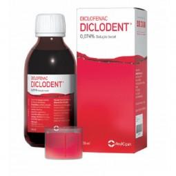 Diclodent 0.074% Solução Bucal - 0,74mg/mL-100mL - comprar Diclodent 0.074% Solução Bucal - 0,74mg/mL-100mL online - Farmácia...