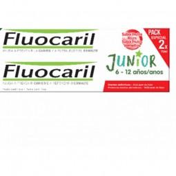 Fluocaril Junior Pasta de Dentes Frutos Vermelhos Duo - 2 x 75 mL - comprar Fluocaril Junior Pasta de Dentes Frutos Vermelhos...
