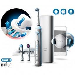Oral B Genius 8200 Escova Elétrica c/ Oferta Suporte para Smartphone - 1 escova dentes elétrica + suporte p/ smartphone - com...