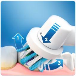 Pack de oferta da escova de dentes eléctrica recarregável Oral-B PRO 750 CrossAction - 1 escova de dentes elétrica + 1 caixa ...