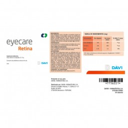 Eyecare Retina - 60 cápsulas - comprar Eyecare Retina - 60 cápsulas online - Farmácia Barreiros - farmácia de serviço