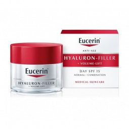 Eucerin Hyaluron-Filler Volume-Lift Creme Dia - Pele Normal a Mista - 50 mL - comprar Eucerin Hyaluron-Filler Volume-Lift Cre...