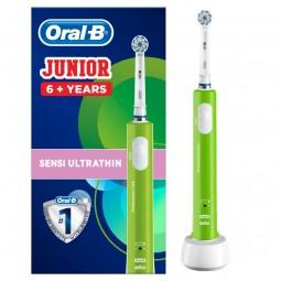 Oral-B Junior Verde Escova Dentes Elétrica Para Crianças +6 Anos - 1 escova de dentes - comprar Oral-B Junior Verde Escova De...