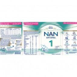 NAN Optipro 1 Leite Lactente - 700 g - comprar NAN Optipro 1 Leite Lactente - 700 g online - Farmácia Barreiros - farmácia de...