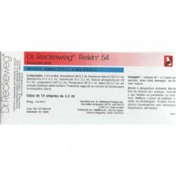 Dr Reckeweg Rekin 54 Ampolas - 10 ampolas - comprar Dr Reckeweg Rekin 54 Ampolas - 10 ampolas online - Farmácia Barreiros - f...