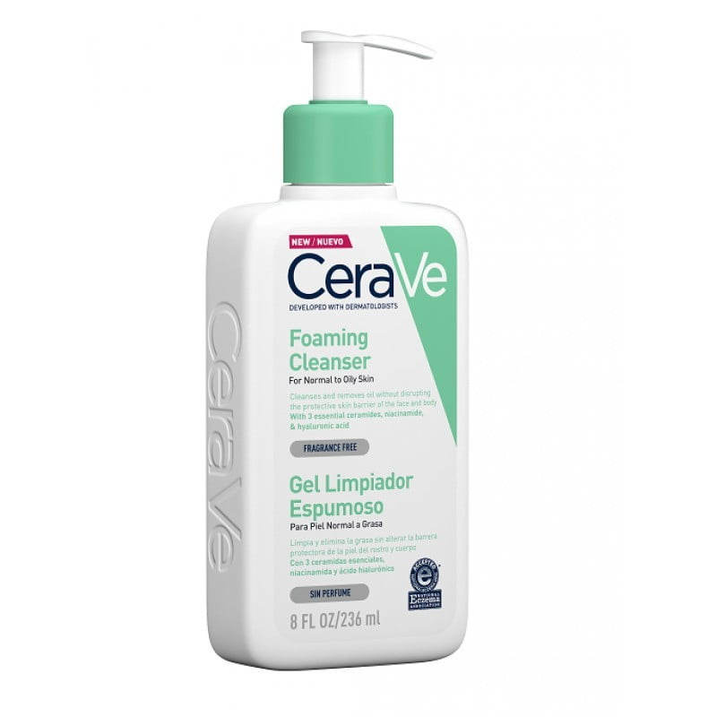 CeraVe Gel de Limpeza Espumoso - 1000 mL - comprar CeraVe Gel de Limpeza Espumoso - 1000 mL online - Farmácia Barreiros - far...
