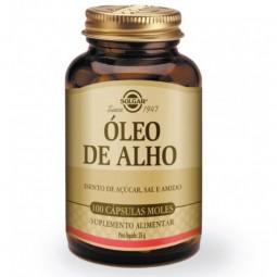 Solgar Óleo de Alho - 100 cápsulas - comprar Solgar Óleo de Alho - 100 cápsulas online - Farmácia Barreiros - farmácia de ser...