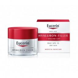 Eucerin Hyaluron-Filler + Volume-Lift Creme Dia - Pele Seca - 50 mL - comprar Eucerin Hyaluron-Filler + Volume-Lift Creme Dia...