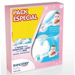 Rhinomer Pack Baby Narhinel Soft Aspirador Nasal + Baby Narhinel Soro Fisiológico - 1 aspirador + 20 monodoses - comprar Rhin...