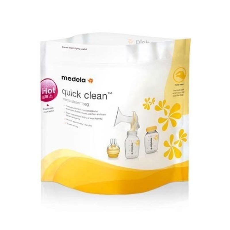 Medela Quick Clean Saco de Esterilização Microondas - 5 sacos - comprar Medela Quick Clean Saco de Esterilização Microondas -...