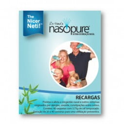 Nasopure Recargas - 40 saquetas x 3.75 g - comprar Nasopure Recargas - 40 saquetas x 3.75 g online - Farmácia Barreiros - far...