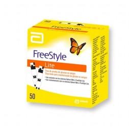 Freestyle Lite Tiras-Teste de Sangue - 50 unidades - comprar Freestyle Lite Tiras-Teste de Sangue - 50 unidades online - Farm...