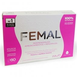 Femal Menopausa - 60 comprimidos - comprar Femal Menopausa - 60 comprimidos online - Farmácia Barreiros - farmácia de serviço
