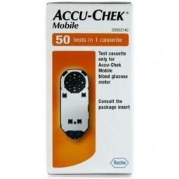 Accu-Chek Mobile Tiras Glicemia - 50un - comprar Accu-Chek Mobile Tiras Glicemia - 50un online - Farmácia Barreiros - farmáci...