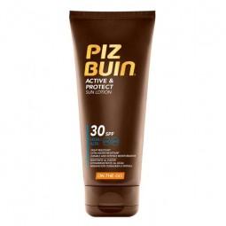 Piz Buin Active e Protect Loção SPF30 - 100ml - comprar Piz Buin Active e Protect Loção SPF30 - 100ml online - Farmácia Barre...
