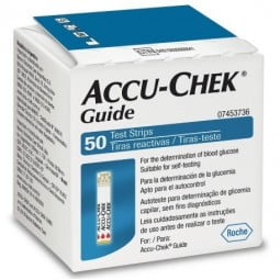Accu-Chek Guide Tiras Sangue - 50 tiras - comprar Accu-Chek Guide Tiras Sangue - 50 tiras online - Farmácia Barreiros - farmá...