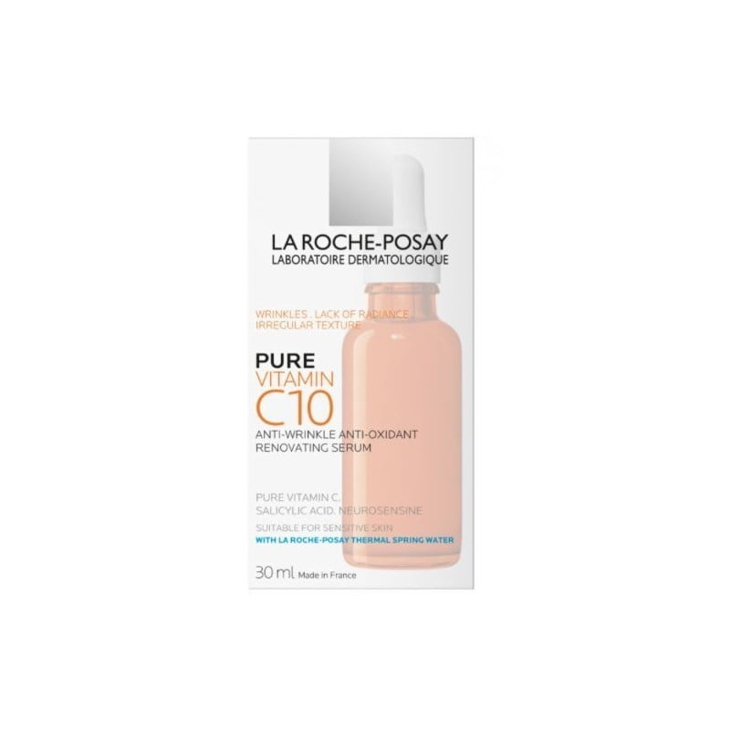 La Roche Posay Pure Vitamin C10 Sérum - 30mL - comprar La Roche Posay Pure Vitamin C10 Sérum - 30mL online - Farmácia Barreir...