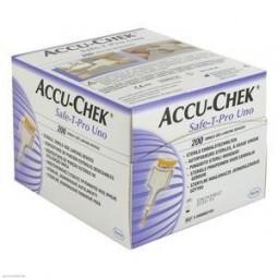 Accu-Chek Safe-T-Pro Uno - 200 lancetas - comprar Accu-Chek Safe-T-Pro Uno - 200 lancetas online - Farmácia Barreiros - farmá...