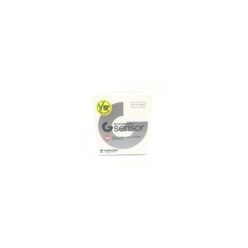 Glucocard G Sensor Tiras Glicemia - 50 unifdades - comprar Glucocard G Sensor Tiras Glicemia - 50 unifdades online - Farmácia...