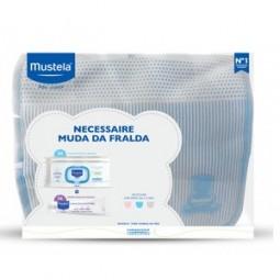 Mustela Kit Necessaire Bebé Muda Fralda Azul - 1 unidade - comprar Mustela Kit Necessaire Bebé Muda Fralda Azul - 1 unidade o...