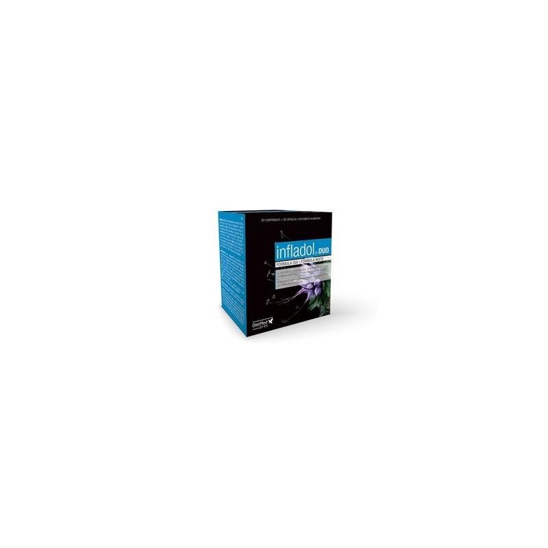 Infladol Duo - 30 cápsulas + 30 comprimidos - comprar Infladol Duo - 30 cápsulas + 30 comprimidos online - Farmácia Barreiros...
