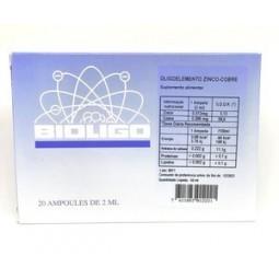 Bioligo Zinco Cobre Ampolas - 20 unidades - comprar Bioligo Zinco Cobre Ampolas - 20 unidades online - Farmácia Barreiros - f...