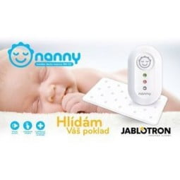 Jablotron Nanny Monitor Apneia Bebé - 1 unidade - comprar Jablotron Nanny Monitor Apneia Bebé - 1 unidade online - Farmácia B...