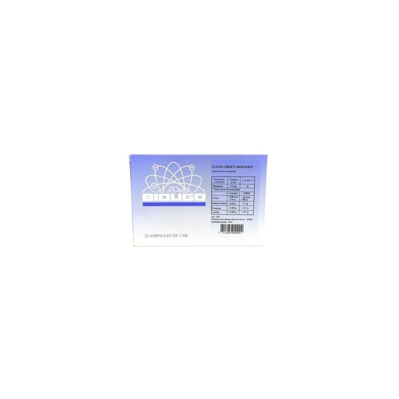 Bioligo Manganês - 20 ampolas - comprar Bioligo Manganês - 20 ampolas online - Farmácia Barreiros - farmácia de serviço