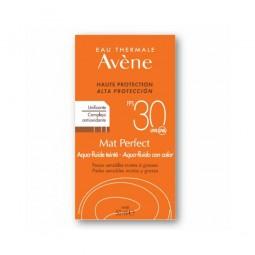 Avène Solar Aqua - Fluído com Cor Mat Perfect SPF 30 - 50ml - comprar Avène Solar Aqua - Fluído com Cor Mat Perfect SPF 30 - ...