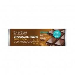 EasySlim Chocolate Negro 70% Cacau com Amêndoas - 30g - comprar EasySlim Chocolate Negro 70% Cacau com Amêndoas - 30g online ...