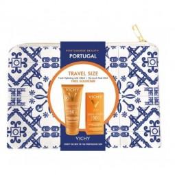 Vichy Idéal Soleil Portuguese Beauty Porto Travel Size - 100ml + 50ml + Bolsa - comprar Vichy Idéal Soleil Portuguese Beauty ...