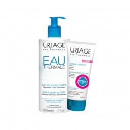 Uriage Eau Thermale Leite Hidratante Corporal com Oferta Uriage Crème Lavante - 500ml + 200ml - comprar Uriage Eau Thermale L...