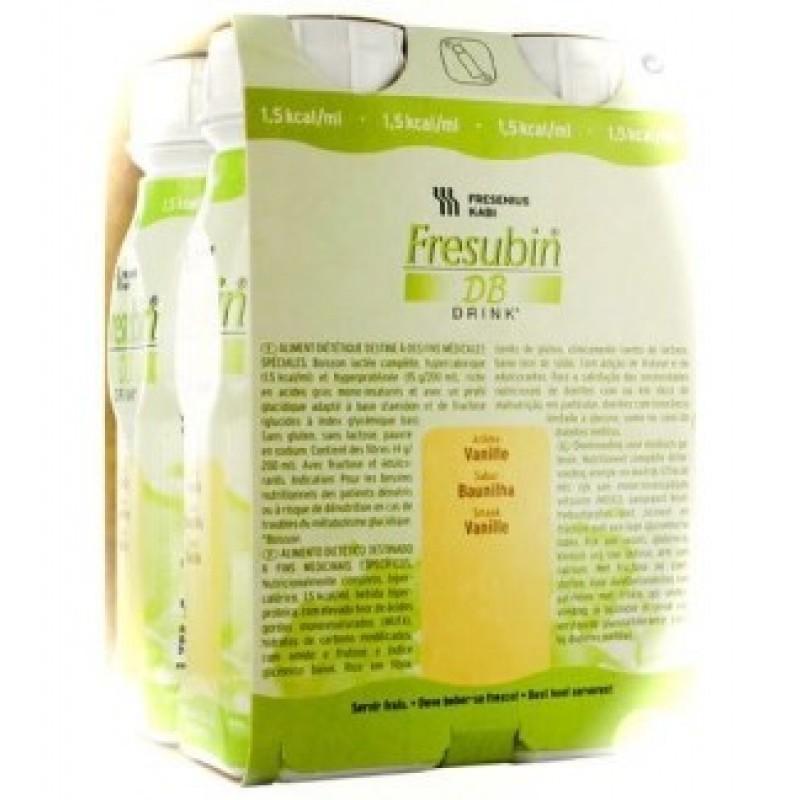 Fresubin DB Drink Baunilha - 4 x 200 mL - comprar Fresubin DB Drink Baunilha - 4 x 200 mL online - Farmácia Barreiros - farmá...