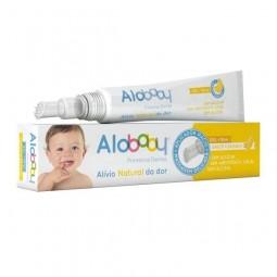 Alobaby Gel Primeiros Dentes - 10ml - comprar Alobaby Gel Primeiros Dentes - 10ml online - Farmácia Barreiros - farmácia de s...