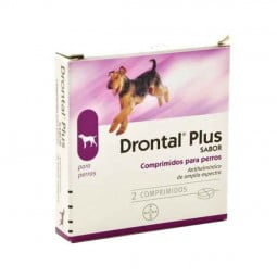 Bayer Antiparasitário Drontal Plus Palatável 10Kg - 2 comprimidos - comprar Bayer Antiparasitário Drontal Plus Palatável 10Kg...